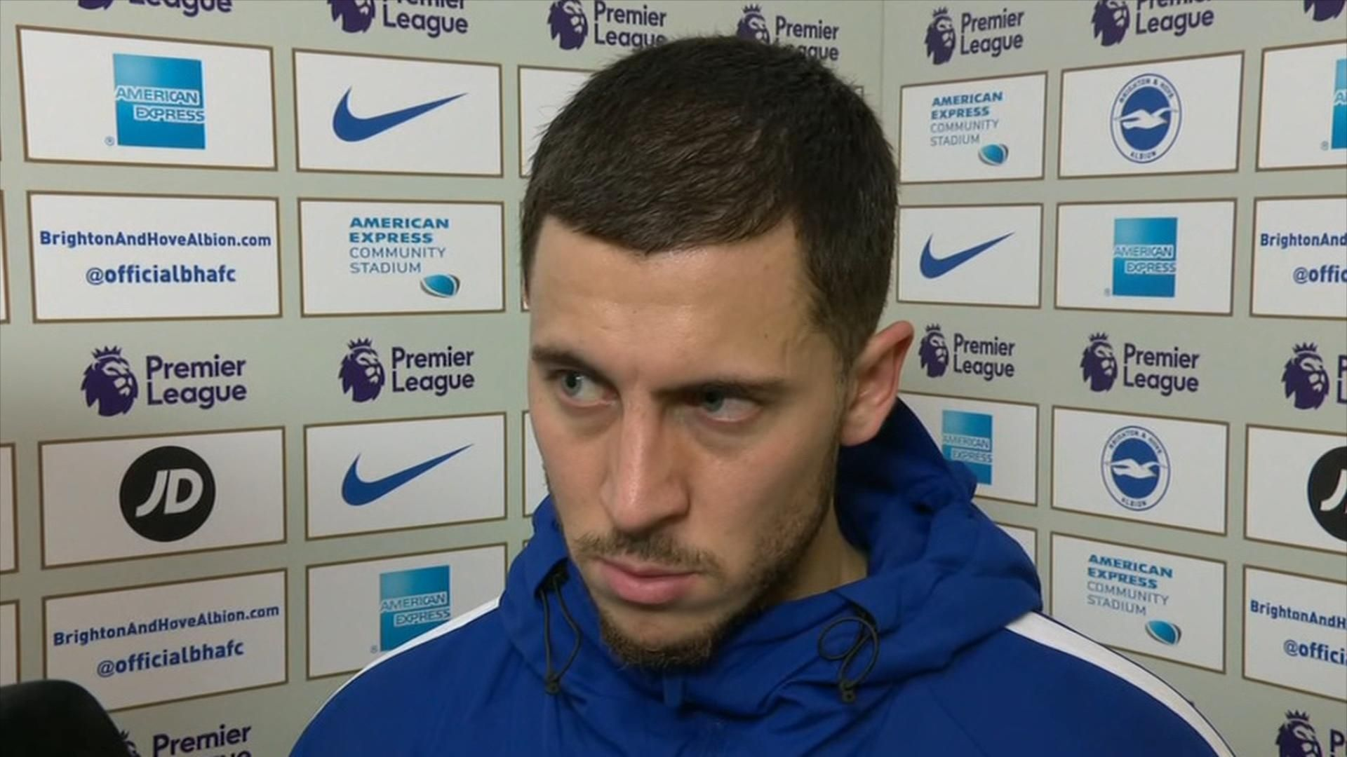Hazard plays down dad's Madrid claims
