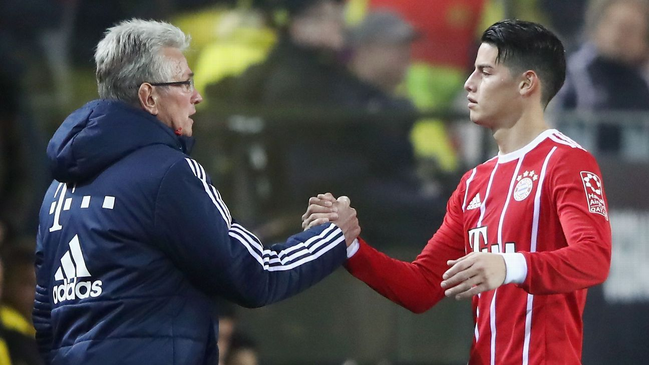 James Rodriguez back from the brink to power Bayern Munich treble charge
