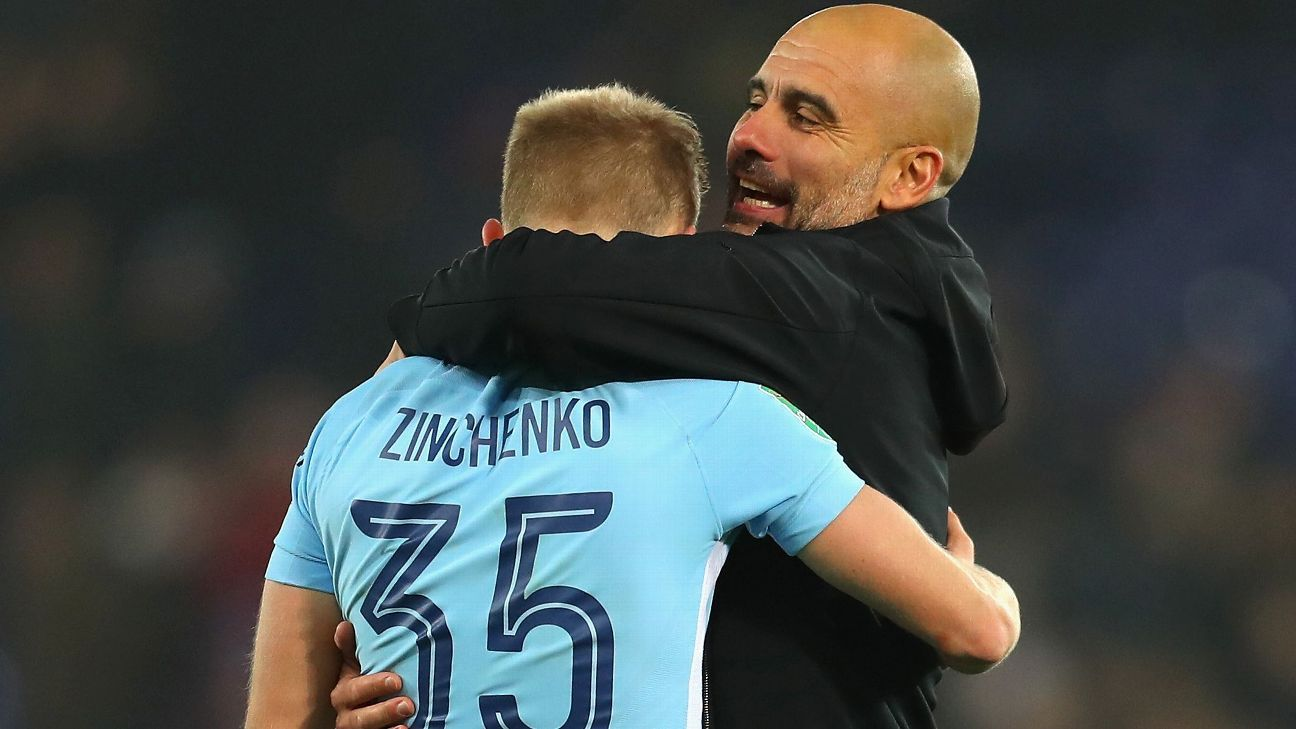 Man City's Zinchenko: I must learn from mistakes vs. Newcastle