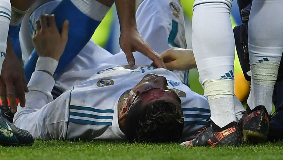 Zinedine Zidane Offers Update on Cristiano Ronaldo After Gruesome Head Wound