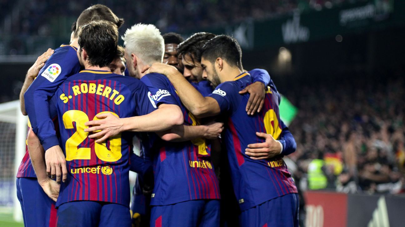 Barcelona's second-half surges a key to their success this season