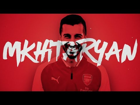 Henrikh Mkhitaryan signs for Arsenal