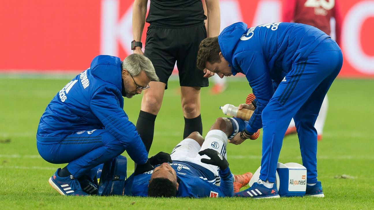 Schalke's Weston McKennie to miss six weeks with knee injury