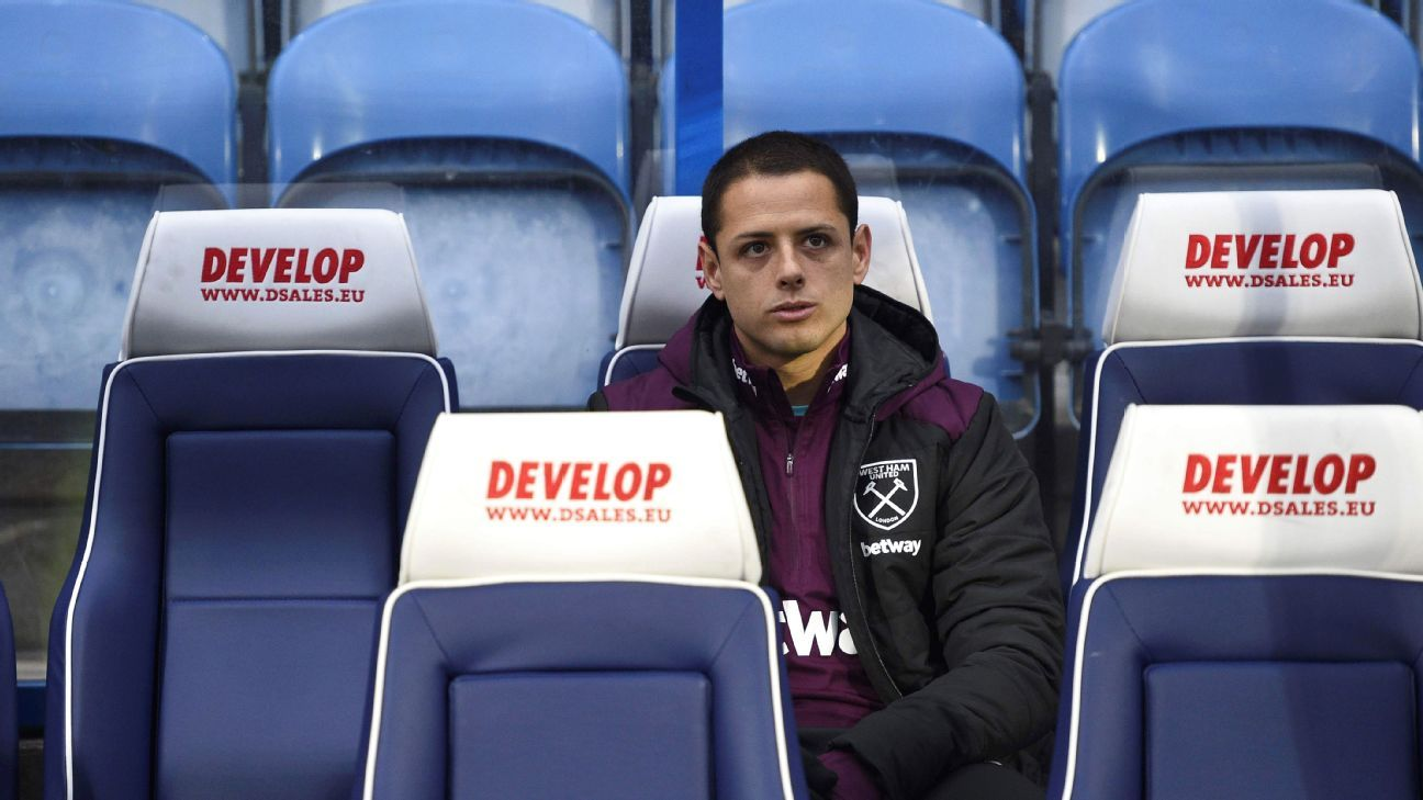 Javier 'Chicharito' Hernandez has requested to leave West Ham - agent