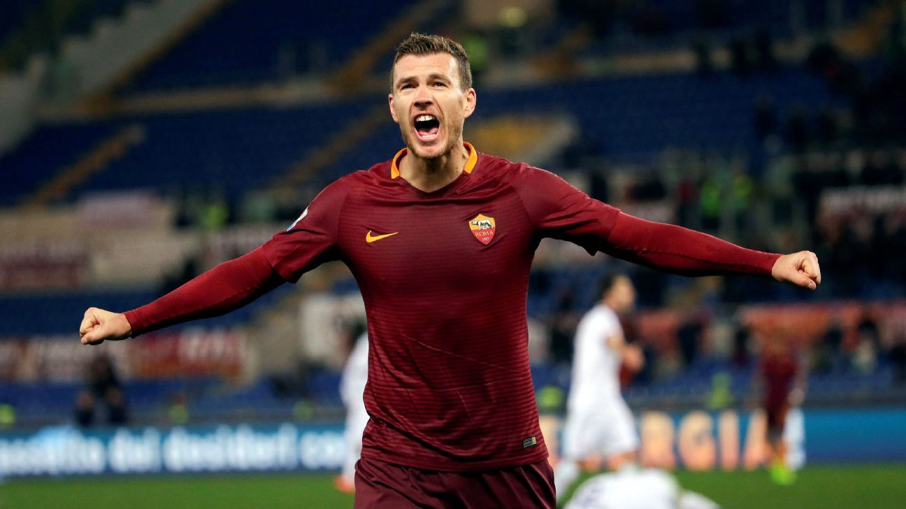 Chelsea Target Edin Dzeko Affected By Transfer Talk: Roma