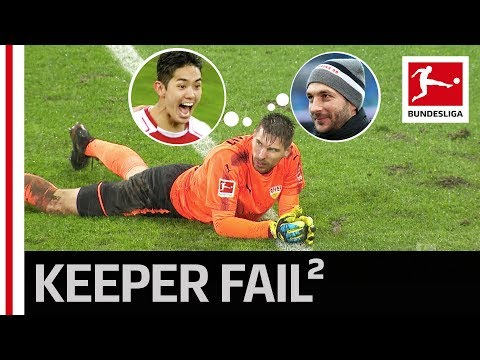 Double Blooper - Nightmare Day for Ron-Robert Zieler
