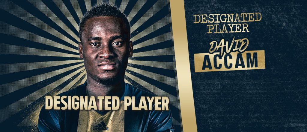 Philadelphia Union coach Jim Curtin expresses delight over Accam signing