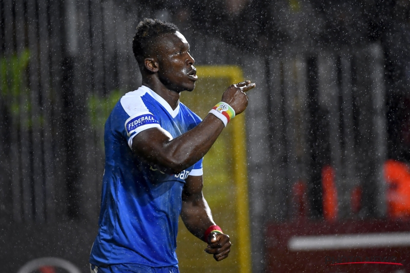 Heartbreak: Joseph Aidoo denied at the death as Genk suffer narrow defeat in Belgian Cup final