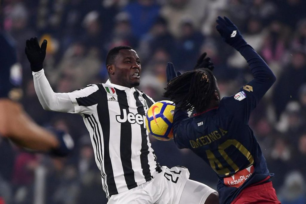 Kwadwo Asamoah happy after Juventus reach Coppa Italia final