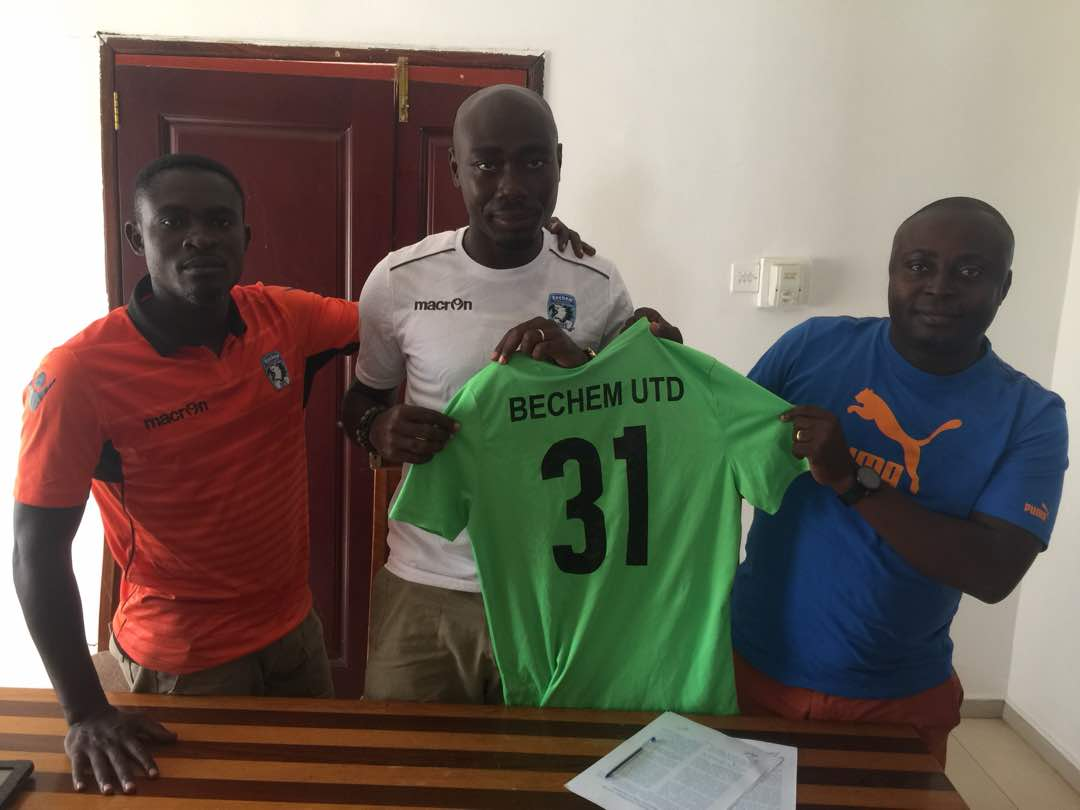 EXCLUSIVE: Bechem United snap up experienced defender Asiamah Badu on two-year deal