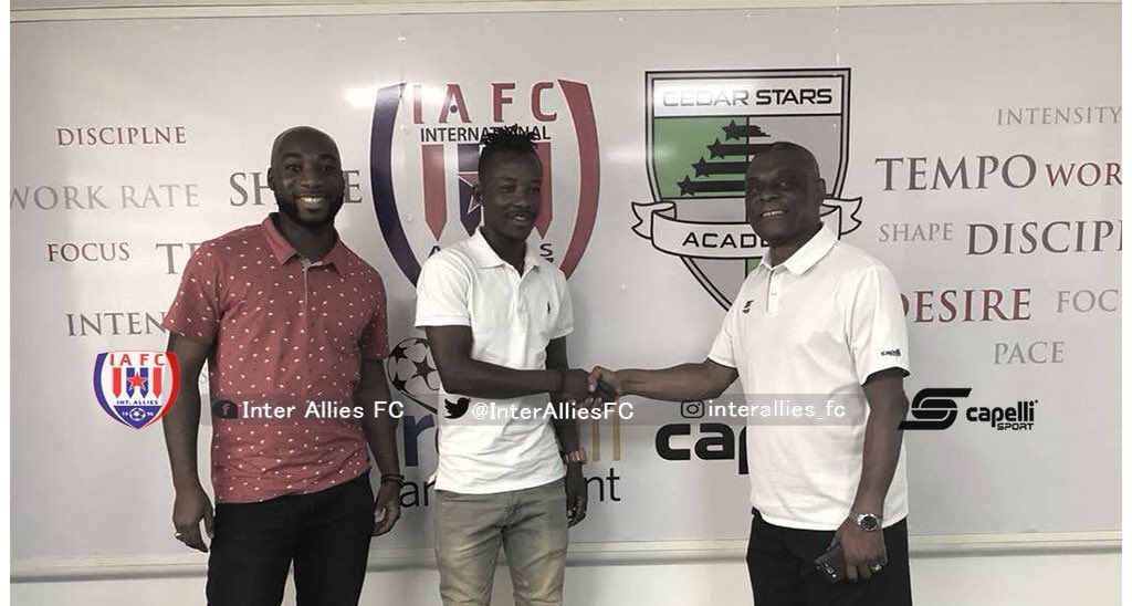OFFICIAL: Inter Allies capture former Heart of Lions midfielder Joseph Baffour Gyawu on a free transfer