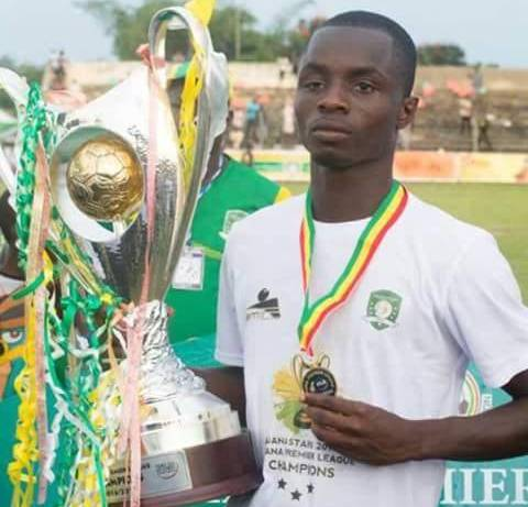 Aduana Stars midfielder Ebenezer Opoku to join Berekum Chelsea on loan