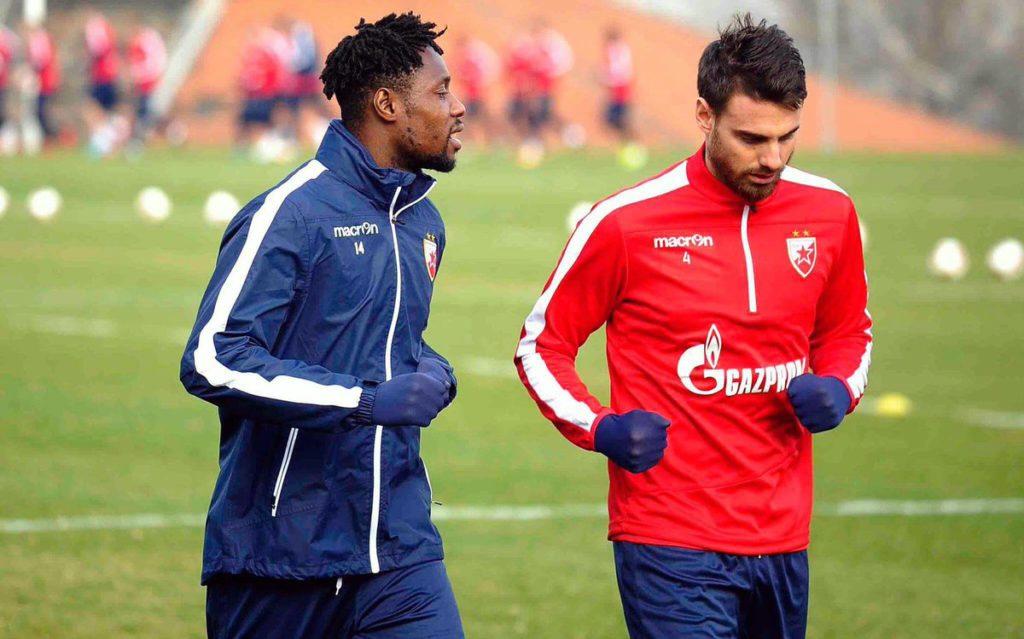 Richmond Boakye hints at Red Star Belgrade stay after return from winter break