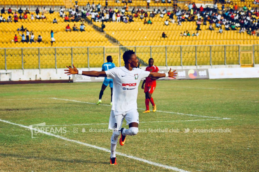GHALCA G8 Match Report: Asante Kotoko 0-1 Dreams FC- Richard Addai late first half goal nails Porcupines