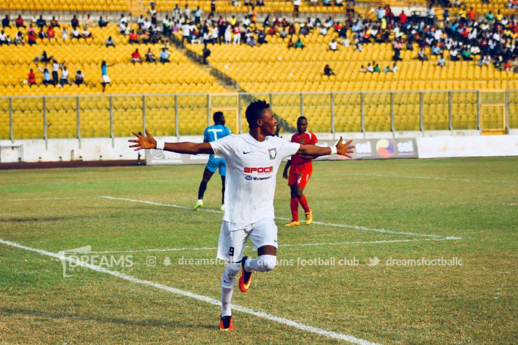 GHALCA G8 Match Report: Asante Kotoko 0-1 Dreams FC- Richard Addai late first half goal nails Porcupines