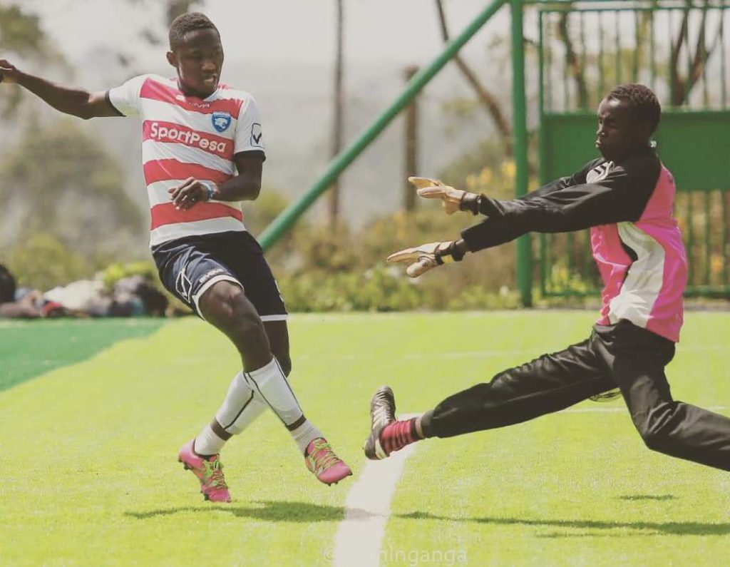On-fire Eric Bekoe hits four goals in two games for Kenyan side AC Leopards