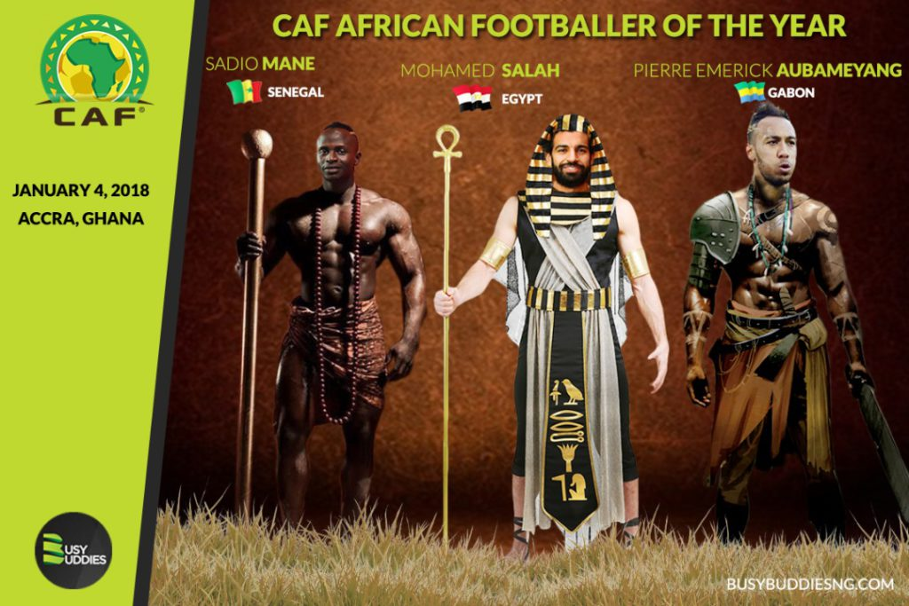 LIVE: Aiteo CAF Awards 2017
