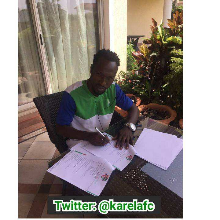 Karela FC complete signing of Sierra Leone international Donald Wellington