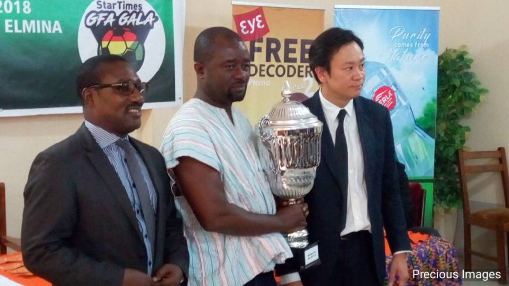 LIVE: StarTimes GFA Gala 2017/18 draw