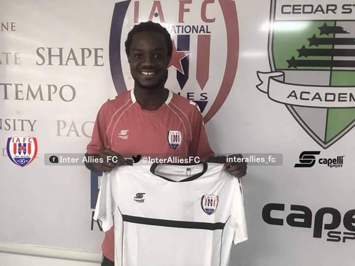Former WAFA winger Richmond Lamptey completes Inter Allies switch