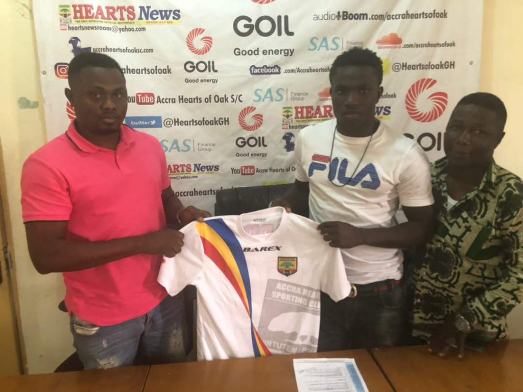 OFFICIAL: Former Kotoko defender Christopher Bonney completes Hearts of Oak move
