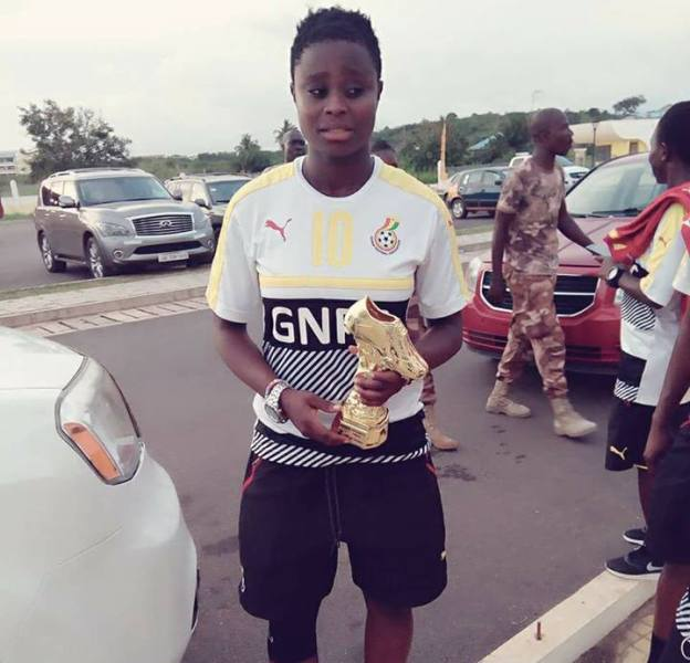 FIFA U20 Women's World Cup: Ghana's Princella Adubea finish joint top scorer with Nigeria's Rasheedat Ajibade