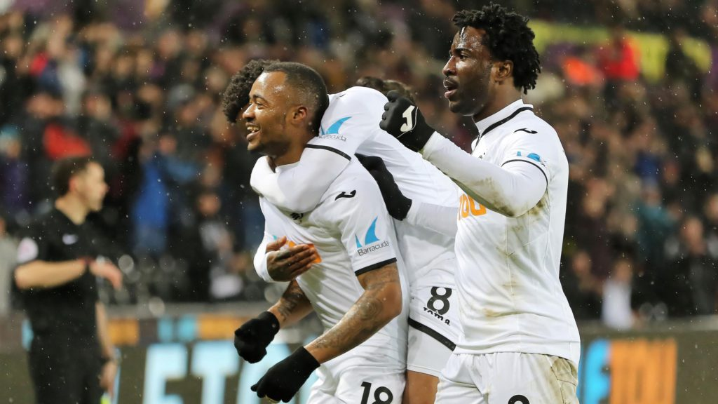 Jordan Ayew on target as Swansea sneak past plucky Wolverhampton Wanderers to FA Cup fourth round