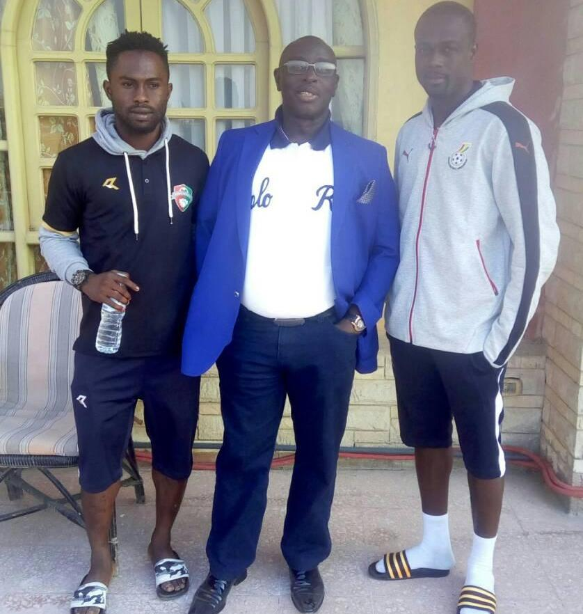 Karela FC duo Sarfo Taylor and Emmanuel Mintah in Egypt to seal Alassiouty Sport moves
