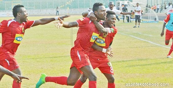 VIDEO: Watch how Asante Kotoko beat Aduana Stars 2-0 to reach GHALCA G8 semi-final