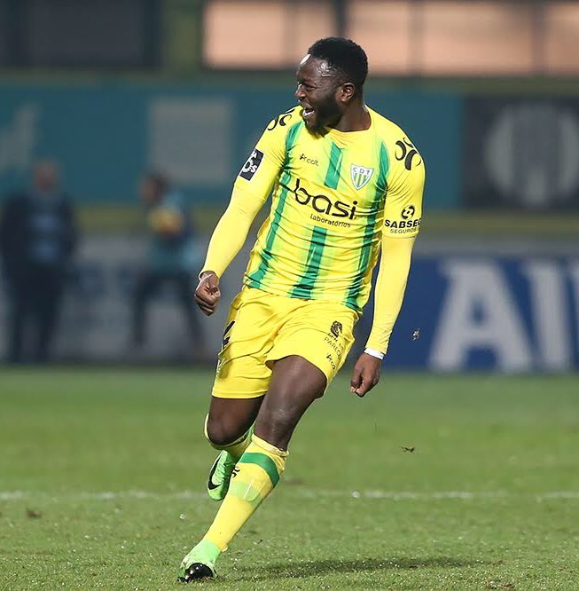 Muniru Sulley tastes win on debut for Portuguese side Tondela