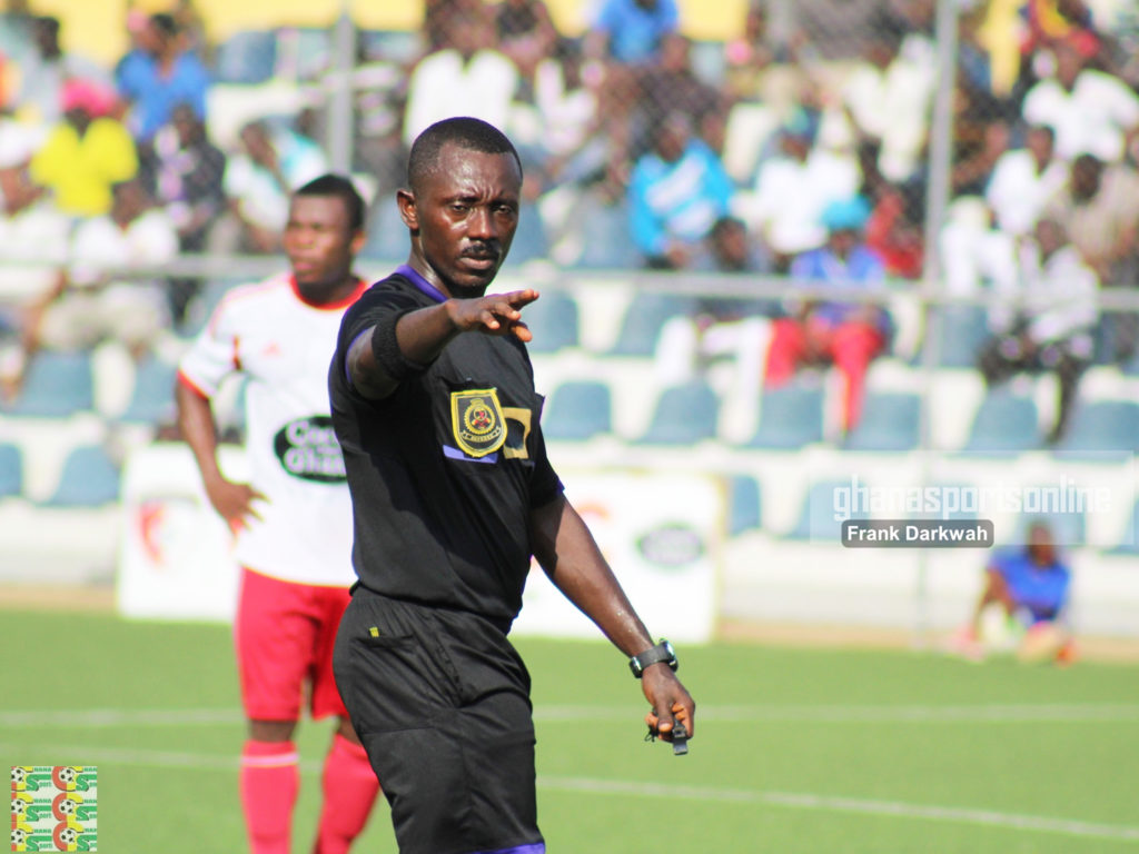 Referee Alex Nsiah to officiate Medeama-Dreams FC G-8 semifinal encounter