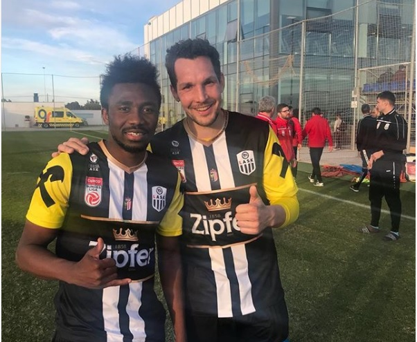On-loan Samuel Tetteh scores debut goal for Austrian side LASK