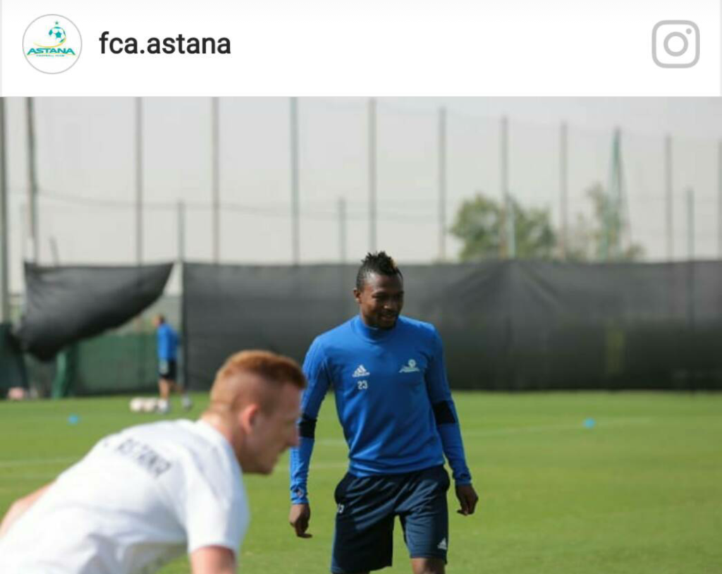 Ghana winger Patrick Twumasi stays on at Astana despite growing interest from top clubs