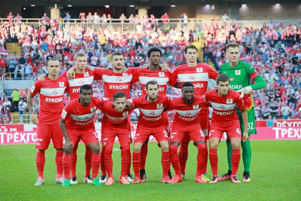 "Russian club Spartak Moscow criticised for ""racist\"" tweet about own players"