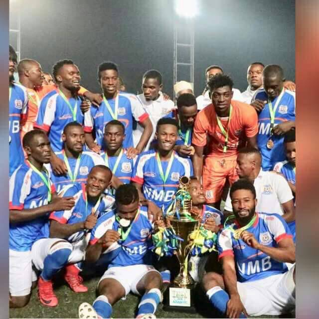 Stupendous Razak Abalora saves two penalties to guide Azam FC to lift Mapinduzi Cup