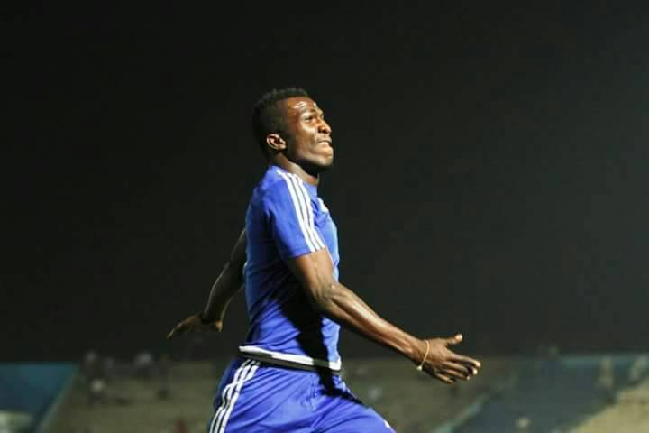 Abednego Tetteh opens goal scoring account for Al Hilal Obeid in pre-season friendly trashing of Al Shendi