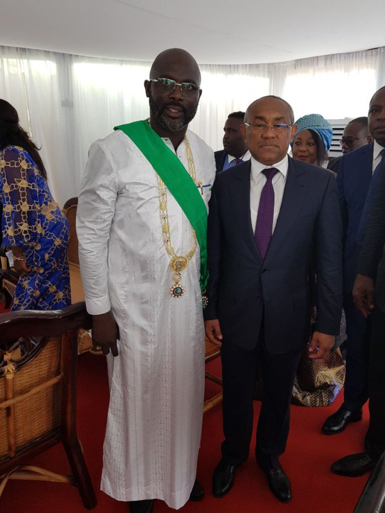 CAF leadership's support for George Weah opens new doors for Africa legends