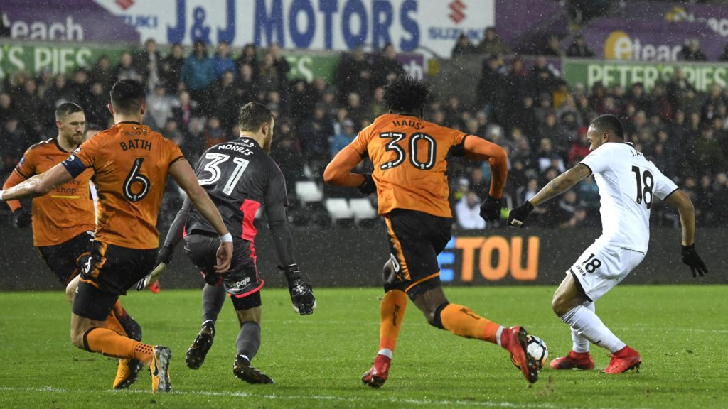 VIDEO: Jordan Ayew SCORES a worldie as Swansea progress in FA Cup