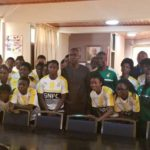Black Princess visit Central Regional Minister ahead of crucial Cameroon clash