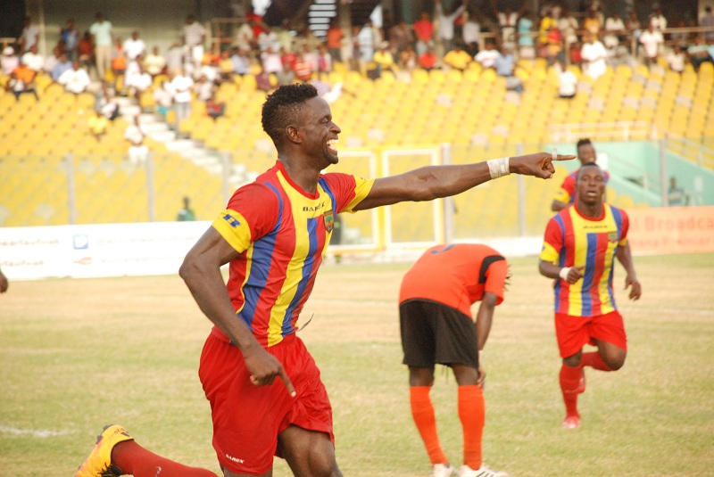 Hearts of Oak forward Cosmos Dauda poised to lead Phobians to glory in G-8