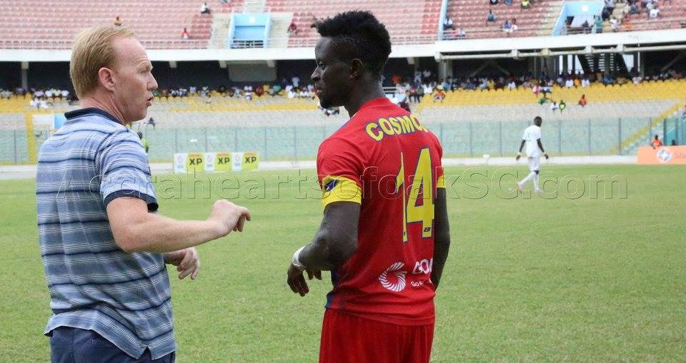 Cosmos Dauda insists he 'still has a lot to offer' Hearts of Oak