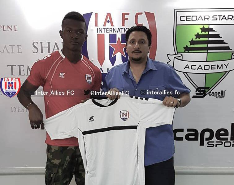 Nigerian forward Effiong Nsungusi Jnr complete Inter Allies move