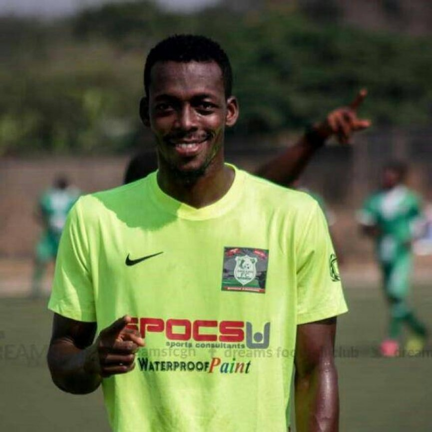 Dreams FC midfielder Eli Keke eyes Aduana Stars downfall in GHALCA G-8 opener