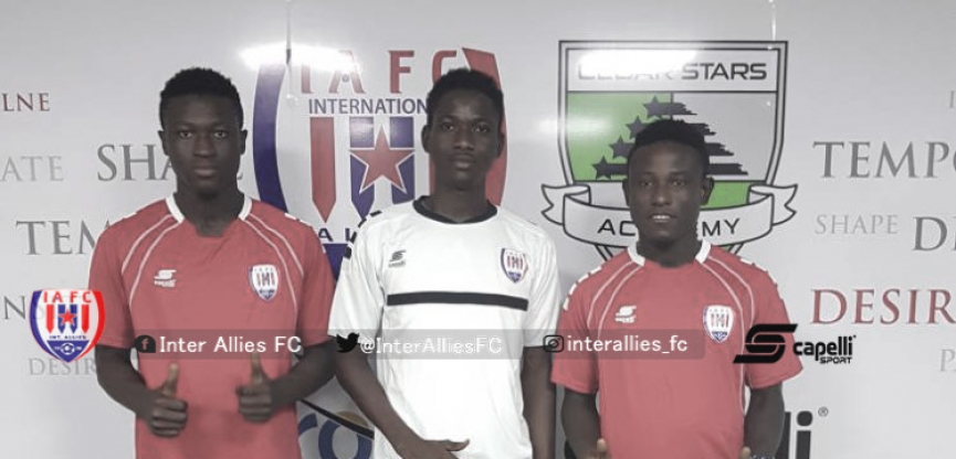 Fard Ibrahim, Tetteh and Kuzumah extend Inter Allies stay