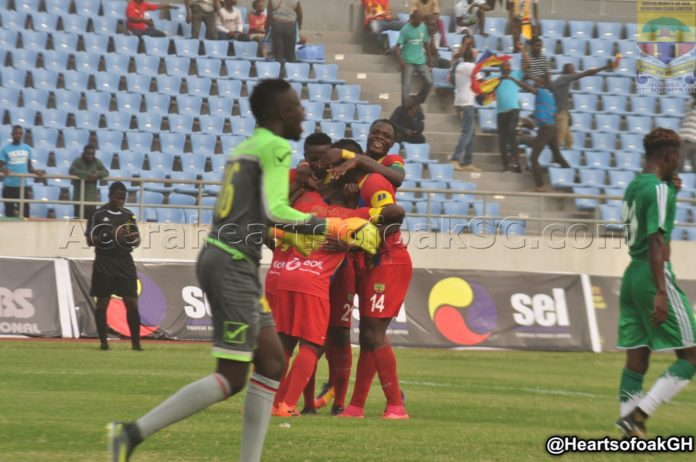 Asante Kotoko 0 (2)-0 (4) Hearts of Oak- Phobians win penalty shootout to reach GHALCA G8 final