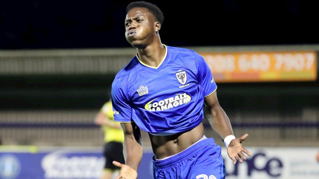 Ghanaian youngster Jayden Antwi joins Farnborough on loan from AFC Wimbledon