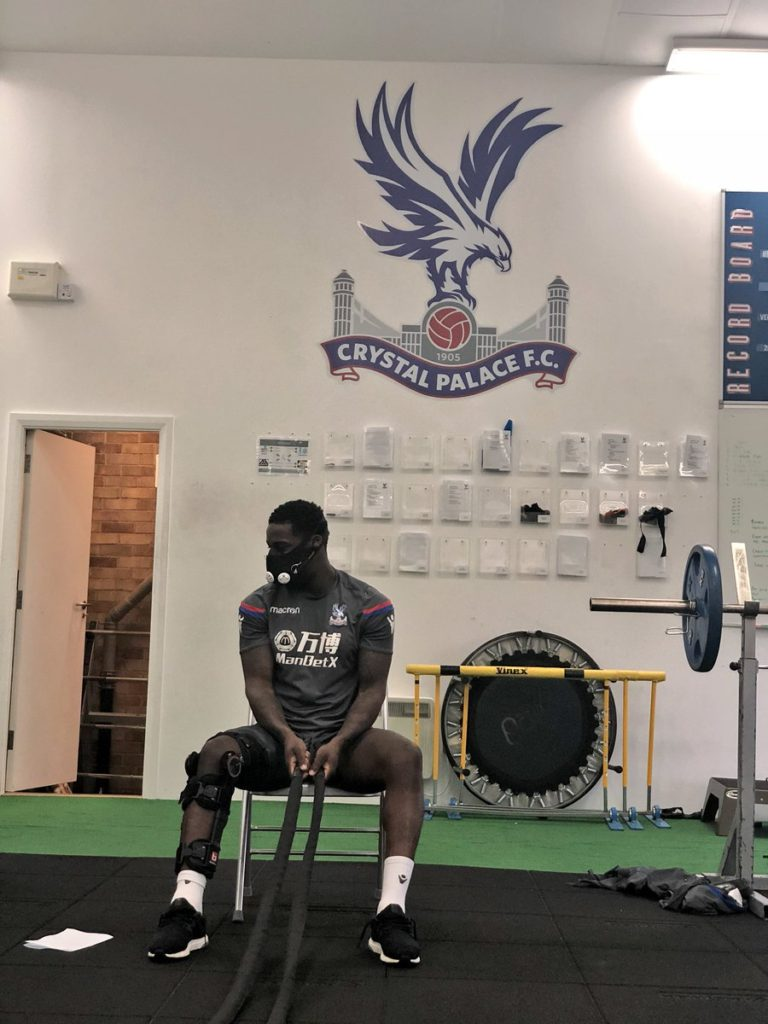 Ghana's Jeffrey Schlupp resumes training after injury lay-off