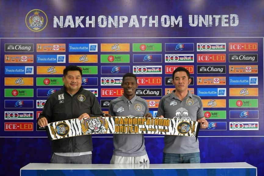 Ghanaian winger John Sam joins Thai second-tier side Nakhonpathom United