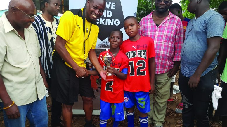 Appeal for kits for young footballers in Africa
