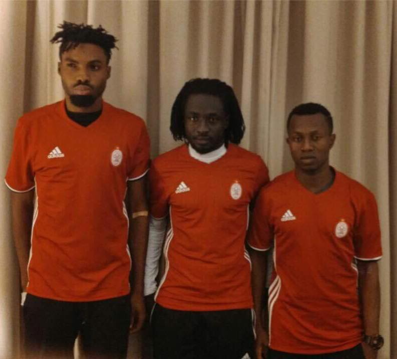 Libyan side Al Ittihad unveil striker Kwame Kizito